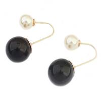 TOP new fashion brand crystal earrings pearl earrings jewelry gift woman girl Alphabet Earrings 112941