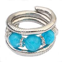 TOP brand new fashion crystal bracelet jewelry gift woman snake bracelet beaded multi-fluorescence sweet 112934