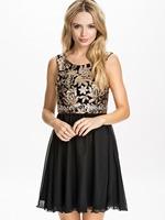 2015 summer new pleated sleeveless dress embossed printing vest dress