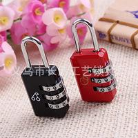 password codes padlock for luggage zipper bag handbag suitcase security travel lock   2pcs/lot  PL19