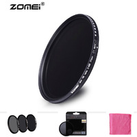 Professional Zomei 46mm ND ND8 Filter Neutral Density Filters Densidade Neutra Protector Filtro for Canon Nikon Sony Camera Lens