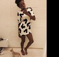 new fashion 2015 women's MINI dress printed half sleeve