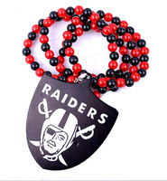 Brand Hip Hop Goodwood Acylic Raiders Pendant Necklace
