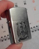 Wholesale 3pcs/lot   International Football Club team logo men brand zipppo Eagle  lighter Manchester City