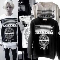 hip hop long sleeve Stay classy retro sweater pattern sweater  men and women hip hop hoodie hip hop t shirt