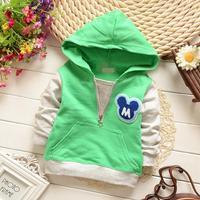 new 2015 kids hoodies baby boys pullover sports jacket children coat