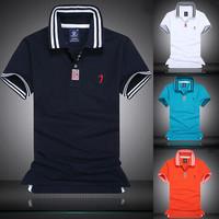 2015 Casual polo shirt for man blusinhas top quality polo shirts blusas cotton men polo shirt short sleeve camisa polo 3 colors