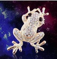 Elegant frog high-grade lovely  crystal brooch fashion jewelry