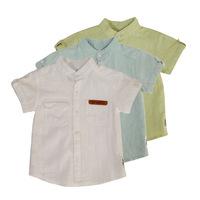 2015 Summer 2-6 years shirt Boy Blouses Children Clothes shirts Boy 100% Cotton Short sleeve top Kids clothing