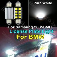 2x White 36mm C5W Error Free LED License Plate Light For BMW 325i 323i 128i 135i 318i 318is 320i 325 325is 325xi 328i 328is