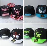 2015 hot sale NY Kids Floral Snapback flower hats youth children Cotton Baby Ny kids snapback Children Baseball Cap hip hop hat