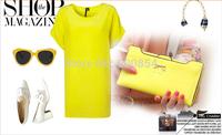 2015 new hot bow Ms. Long women wallet girl card lady purse Drop free shipping