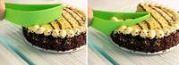 Free shipping 1pcs Pefect Cake Pie Slicer kitchen tool cake cutter/divider - WFA0045