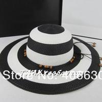 summer straw beach hats for women, sun hats female, wide brim beach floppy hats, chapeu feminino,  free Shipping
