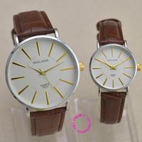 fashion luxury couple watch man japan quartz businessman woman Wristwatch unisex lovers waterproof hour big small brown white