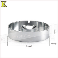 New Practical Aviation aluminum ashtray round ashtray simple Ashtray(China (Mainland))