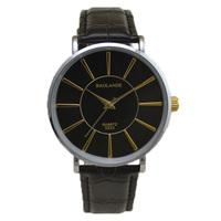 fashion black dial wrist luxury man watch japan quartz businessman woman Wristwatch unisex waterproof hour big small couple new