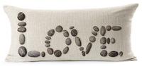 love stone fundas pilow case rectangular cushion cover sofa throw cover