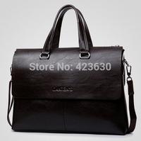 2015 New Genuine Leather Bag Men Shoulder Bags Vintage Handbags Mens Messenger Bag Man Briefcase