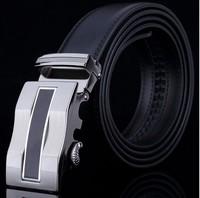 Men's genuine leather belt buckle belt automatic alloy fashion casual belt