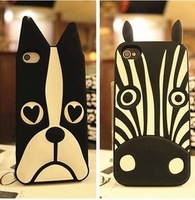 100x DHL Free.Cute Cartoon Animal Love Dog/Zebra/Owl/Rabbit/Soft Silicone case For iphone6 4.7inch/6 plus 5.5inch Galaxy Note 4