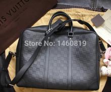 2015 NEW Men briefcase black EMS shipping(China (Mainland))
