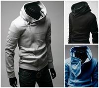Free Shipping 2015 NEW Hot High Collar Men's Jackets ,Men's Sweatshirt,Dust Coat ,Hoodies Clothes,cotton wholesale