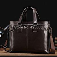 Fashion Men's Shoulder Bags Men Handbags Leather Messenger Bag Business Briefcases Casual Travel Bag