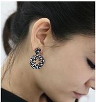 C25R4C Valentine's Day gifts new hot sale Drop earring Korea  jewelry for women Cute Retro Style Popular Flower earrings