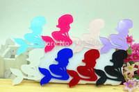 flatback planar resin mermaid for phone accessaries 50pcs/lot mix colors