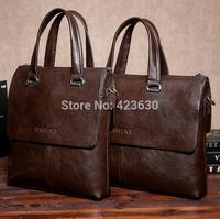 Genuine Leather Bag Men Handbags High Quality Shoulder Bags Vintage Men's Messenger Bags Man Briefcases Leather Travel Bag