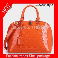 Free shipping Hot selling 100% genuine leather handbags fashion women bag casual leather shoulder bag shell bag waterproof bag