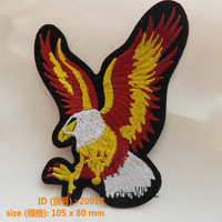 "20012 Aquila Chrysaetos Iron-On Patches ""Easy To Apply, Just Iron-On"" Guaranteed 100% Quality Custom Embroidery + Free Shipping"