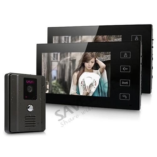 Видеодомофон SAVEBASE 7 LCD Intercome 1 2 DP-766+TW-660H(B)
