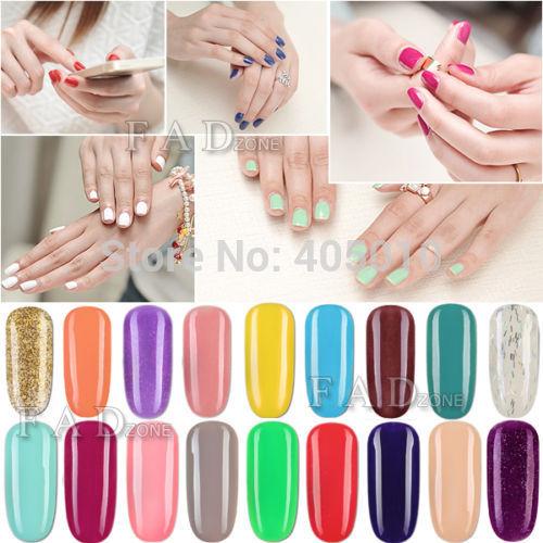 10 ml Soak off uv gel nail polish nail gel manicure set beauty nail art serious suit for uv lamp LED lamp 03(China (Mainland))