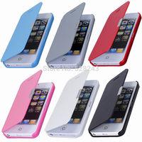 2015 Leather Flip wallet capa para coque capinha de celular cell phone bags cover fundas magnetic cases for iphone 4 4s 5 5s 6