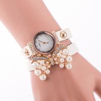 New Classic Fashion Imitation Diamond Setting Watch New Electronic Style Women Dress Watches Ladies Quartz Butterfly Pearl reloj