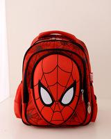 Children schoolbag shoulder bag Korean version of the new Spider-Man preschool children of men and women students backpack