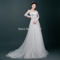 a line wedding dress 2015 vestido de noiva sexy lace wedding dresses vestidos fashionable wedding gowns bride dresses 708