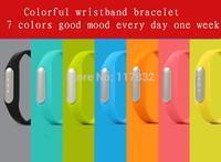 2015 100% original xiaomi wristband smart mi bracelet activity/Passometer/fitness/sleep trackers  MI4 M3 MIUI for android