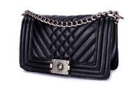 sheepskin leather handbags brand woman bag chain bag genuine leather Women handbag classical chain  bags small shoulder bags