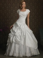 Nitree Floor Length Cap And Sweetheart Neck Ball Gown Sexy And Beautiful Wedding Dresses 2014 New Arrival Free Shipping