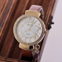 Relogios Femininos wristwatch Limited New Glass Women Trend Hot Fashion Watch Wholesale Diamond Ladies Watches Quartz free ship