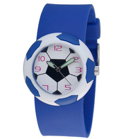 new arrival  Free Shipping in stock 3PCS/lot Football kid watch, Children Watch ,birthday gift