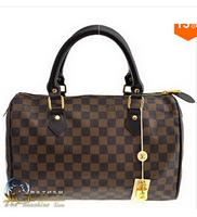 Fashion N41523 brown womens tote bag handbags Classic Speedy 35