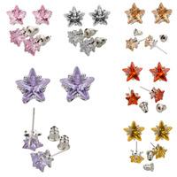 Wholesale Fashion Jewelry Earring Zircon Silver Earrings SWA Elements Austrian Crystal Star Rhinestone Earrings For Women