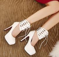 2015 spring new women pumps wild OL sexy high heels elegant fine lace women shoes