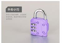 password codes padlock for luggage zipper bag handbag suitcase security travel lock   5pcs/lot  PL20