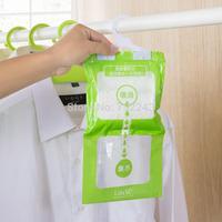 2015 Wholesale Creative Household Wardrobe Closet Dehumidifier Moisture Absorbent Bathroom Mildew Proof Bag a2 Drop Shipping