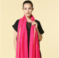 The Sale Adult Scarves 2015 New Women's Fashion for Scarf Shawls Solid Color Long And Pashimina,wholesale free Shipping